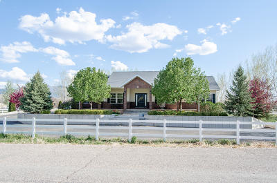 Cedar City Single Family Home For Sale: 2277 W 2650 N