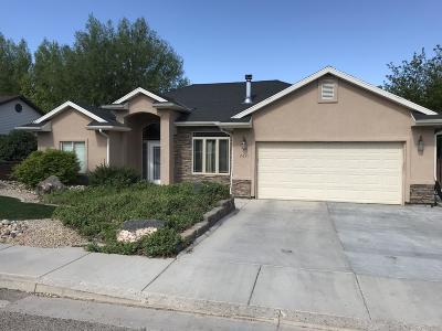 Cedar City Single Family Home For Sale: 2621 N 475 W