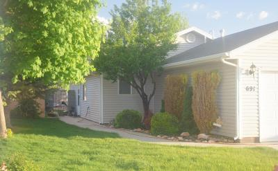 Parowan UT Single Family Home For Sale: $184,900