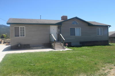 Parowan UT Single Family Home For Sale: $153,900