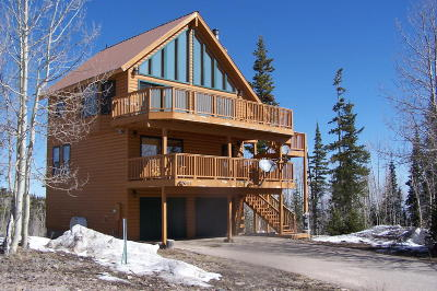 Brian Head Single Family Home For Sale: 406 W Ridge View