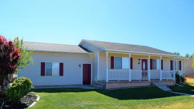 Parowan UT Single Family Home For Sale: $219,500