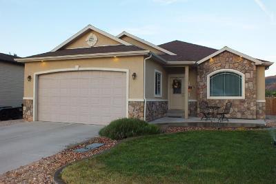 Parowan Single Family Home For Sale: 162 N 750 W