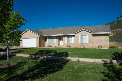 New Harmony Single Family Home For Sale: 2583 S Old Hwy 91