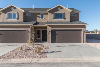 Cedar City Condo/Townhouse For Sale: 3064 W 1750 N