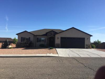 Cedar City Single Family Home For Sale: 92 W 2775 N