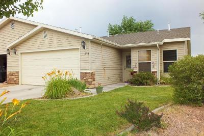 Cedar City Condo/Townhouse For Sale: 373 N 4250 W