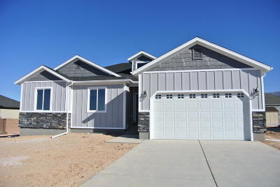 Cedar City Single Family Home Accepting Backup Offers: 3752 N Native Dancer Dr