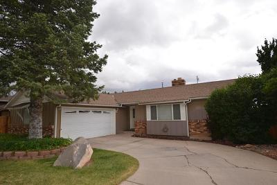 Cedar City Single Family Home For Sale: 662 W Mountain View Dr