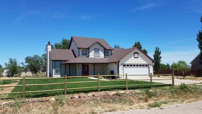 Cedar City Single Family Home For Sale: 2730 W 4850 N