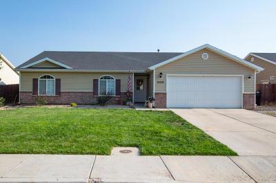 Cedar City Single Family Home For Sale: 4153 W 250 N St