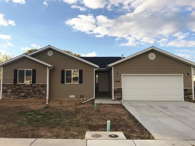 Cedar City Single Family Home For Sale: 2789 Sunny Brook Row