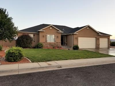 Cedar City Single Family Home For Sale: 4111 W 175 S