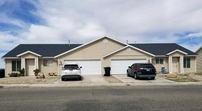 Cedar City Multi Family Home For Sale: 1253 N Cedar Blvd;;;1255 Cedar N