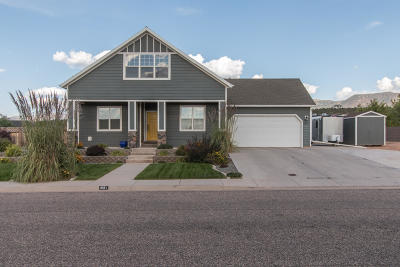 Cedar City Single Family Home Accepting Backup Offers: 1091 S 4375 W