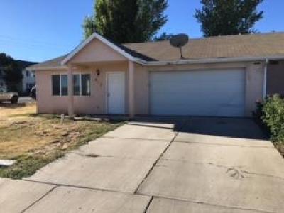 Cedar City Single Family Home For Sale: 401 W 1150 N