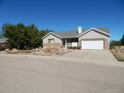 Parowan Single Family Home For Sale: 351 E 400 N