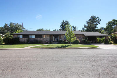 Cedar City Single Family Home For Sale: 351 S Dewey Ave