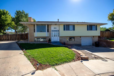 Cedar City Single Family Home For Sale: 292 W 1000 N