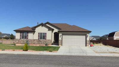 Cedar City Single Family Home Accepting Backup Offers: 4008 W 50 S