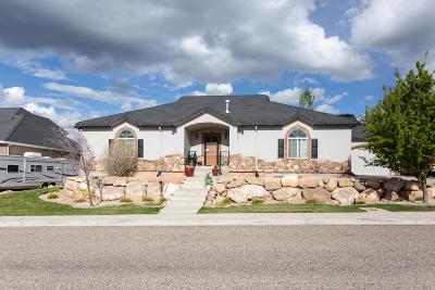Cedar City Single Family Home For Sale: 2346 N 950 E