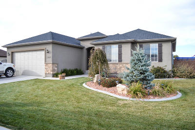 Cedar City Single Family Home For Sale: 3984 W 50 S