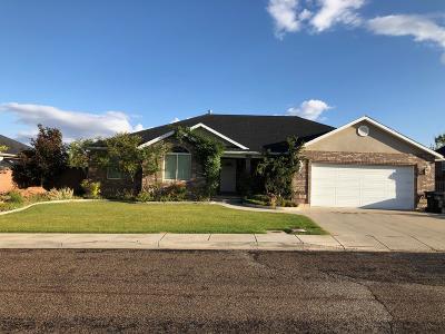 Cedar City Single Family Home For Sale: 2014 W 650 S