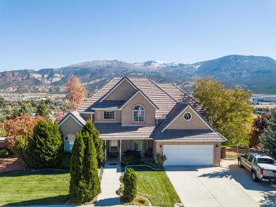 Cedar City Single Family Home For Sale: 881 S 1750 W