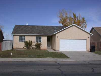 Cedar City Single Family Home For Sale: 792 W North Cedar Blvd