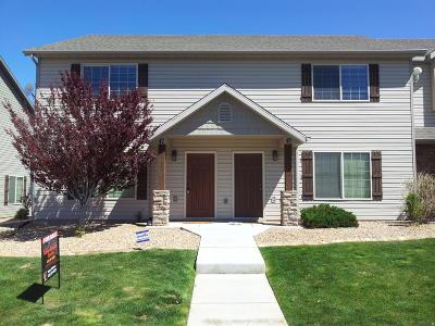 Cedar City Condo/Townhouse For Sale: 370 W 1425 N