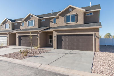 Cedar City Condo/Townhouse For Sale: 3082 W 1725 N