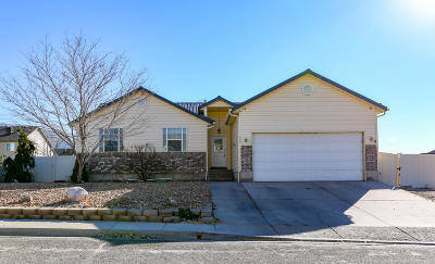 Cedar City Single Family Home For Sale: 359 W 1500 N