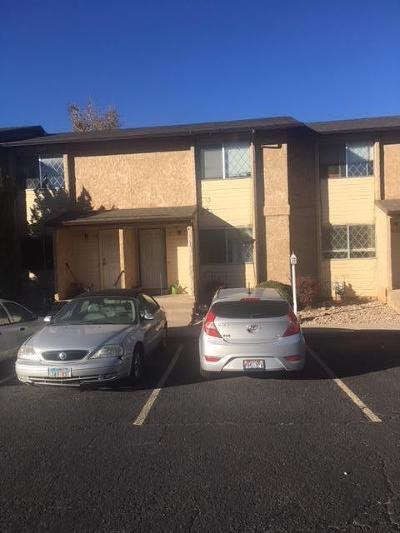 Cedar City Condo/Townhouse For Sale: 101 N 1850 W