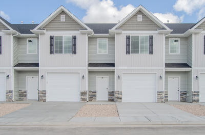 Cedar City Condo/Townhouse For Sale: 485 W 1425 N