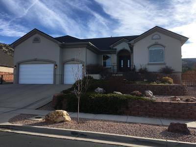 Cedar City Single Family Home For Sale: 1282 N 525 E