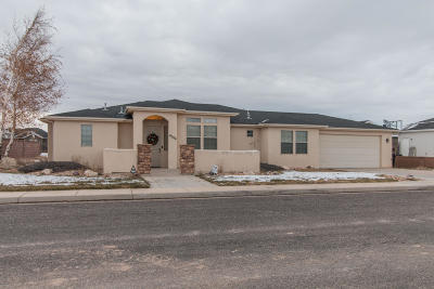 Cedar City Single Family Home For Sale: 4026 W 175 S