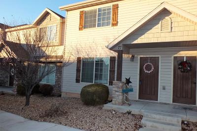 Cedar City UT Condo/Townhouse Accepting Backup Offers: $155,900