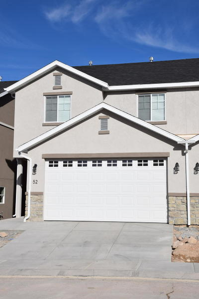 Cedar City Condo/Townhouse Accepting Backup Offers: 173 E Fiddlers Canyon