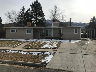 Cedar City Single Family Home For Sale: 124 Monterey Dr