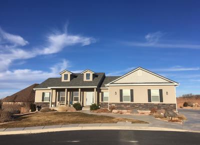 Cedar City Single Family Home For Sale: 62 W 2875 N Cir