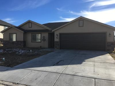 Cedar City Single Family Home Accepting Backup Offers: 1887 W Clark Parkway N