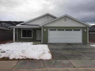 Parowan Single Family Home For Sale: 2285 W 450 S