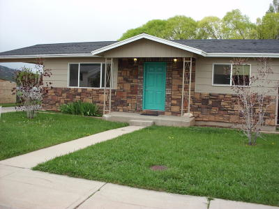 Parowan Single Family Home For Sale: 272 S 700 W
