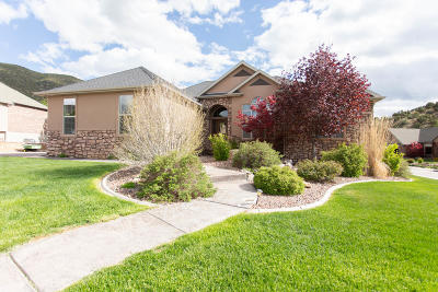 Cedar City Single Family Home For Sale: 1012 E Cellowood Lane