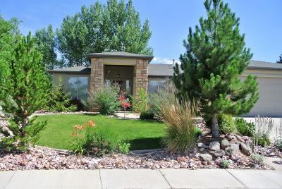 Cedar City Single Family Home For Sale: 2283 W Crestview Cir
