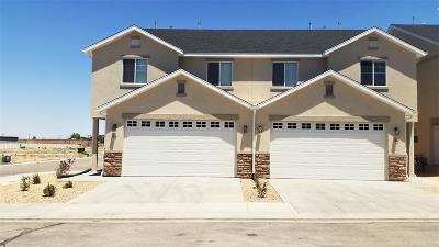 Cedar City Condo/Townhouse For Sale: 173 E Fiddlers Canyon Rd