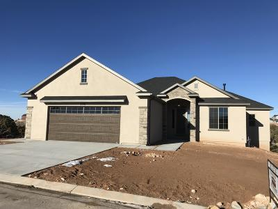 Cedar City Single Family Home For Sale: 2548 W Carmel Estates Dr