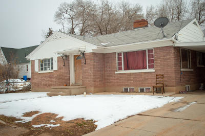 Cedar City Single Family Home For Sale: 160 E McArthur Avenue