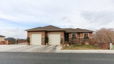 Cedar City Single Family Home For Sale: 2097 Ashdown Forest Rd