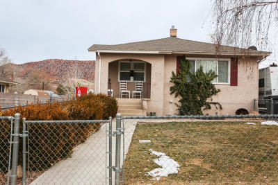 Cedar City Single Family Home For Sale: 139 S 100 E